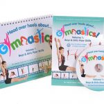 This is an image of our Volume 1 Book and DVD from our Christmas Gymnastics Gifts Packages.