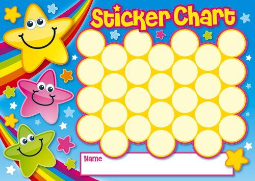 Brainwaves - Mini Sticker Chart