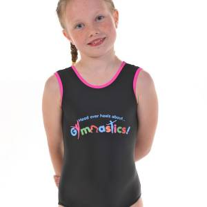 This is a picture of our girls gymnstics leotards from our Christmas Gymnastics Gifts