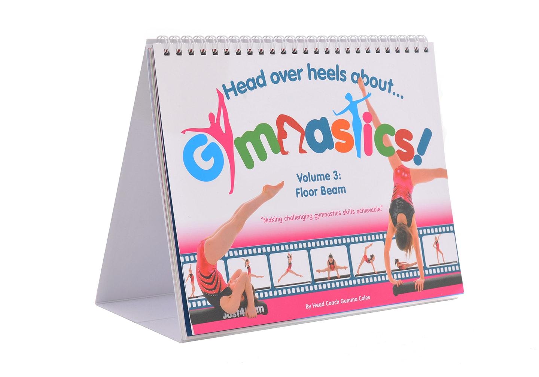 Head Over Heels About Gymnastics Floor Beam Book