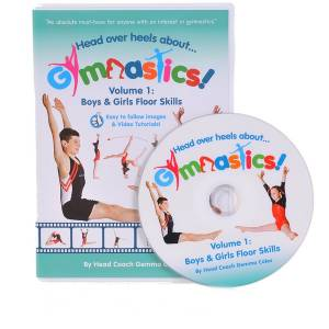 This is an image of our Dvd Volume 1 from our Christmas Gymnastics Gifts