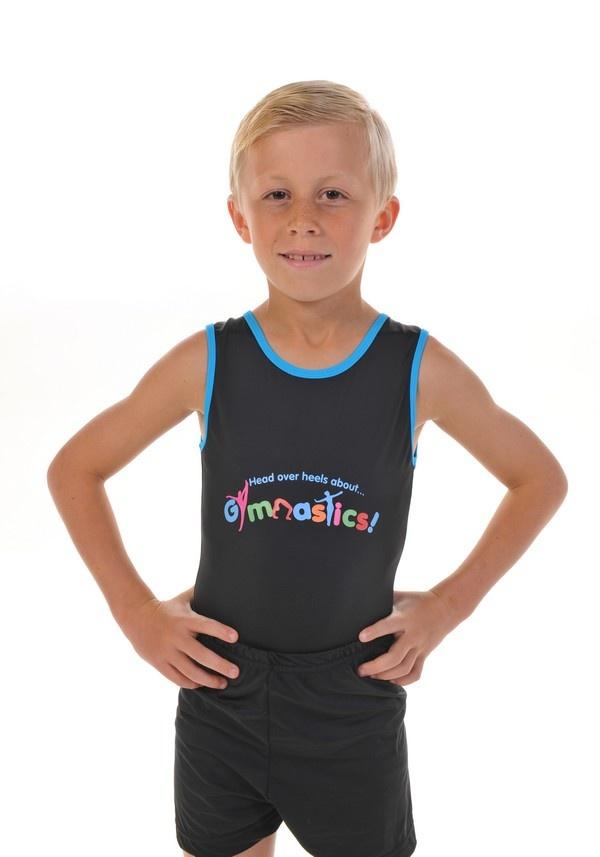 113b5dada Head Over Heels Gymnastics Boys Leotard   Shorts