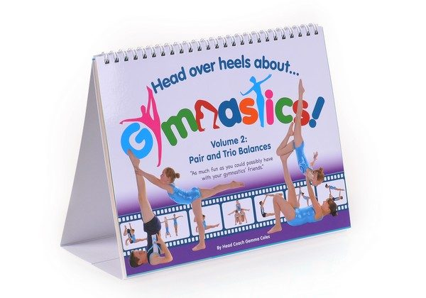 This is an image of Volume 2 book from our Christmas Gymnastics Gifts