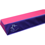 We were kindly sent a Folding Beam by My Home Gymnastics to trial. We took it to Chloe's (our superstar gymnast) house to trial and see what we thought about it. Verdict was - awesome!!!