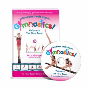 Head Over Heels Floor Beam Gymnastics DVD