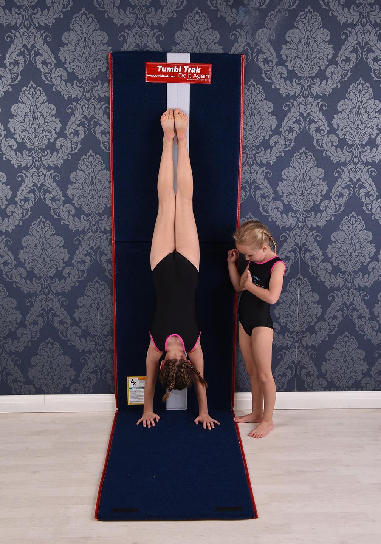 Tumbl trak handstand homework mat