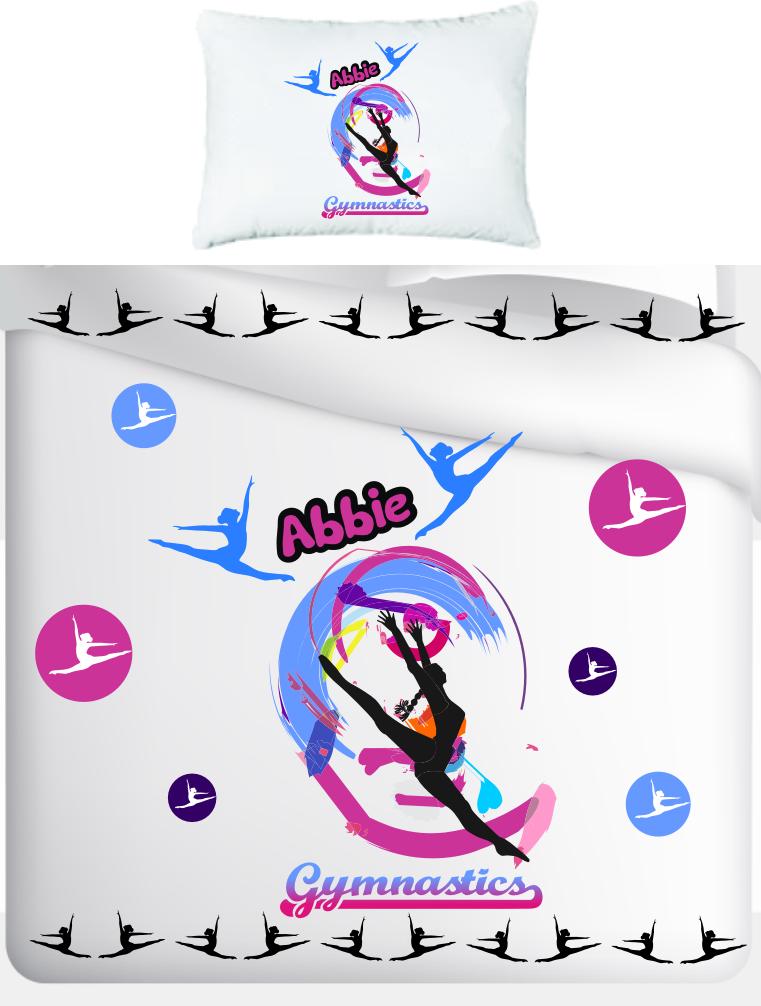 Star Leotards Gymnastics Bedspreads