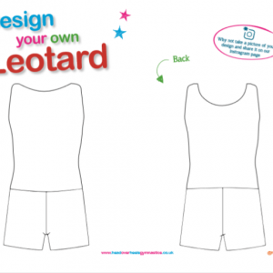 Design You Own Boys Leotard Page