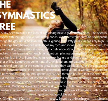 The Gymnastics Tree, By Gemma Coles