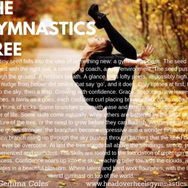 The Gymnastics Tree, By Gemma Coles