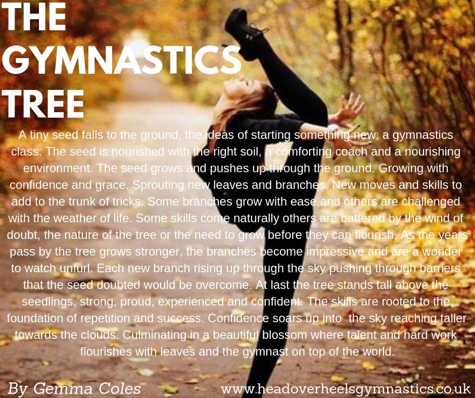 The Gymnastics Tree Poem - Head Over Heels Gymnastics