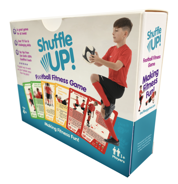 Image of the Shuffle Up Football Fitness Game