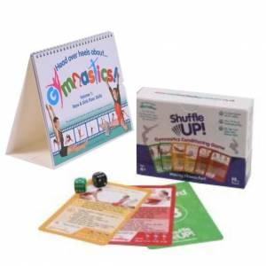 Gymnastics book and game christmas birthday present gift